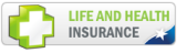 Life and Health Insurance Button